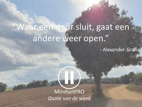 Quote van de week #1 - Nieuw begin