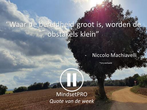 Quote van de week #15 - Bereidheid