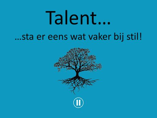 Verwonderwaardigen #27 - Talent