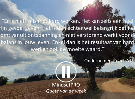 Quote van de week #30 - Balans