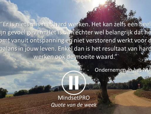 Quote van de week #30 - Balans