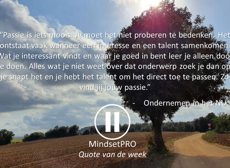 Quote van de week #28 - Passie