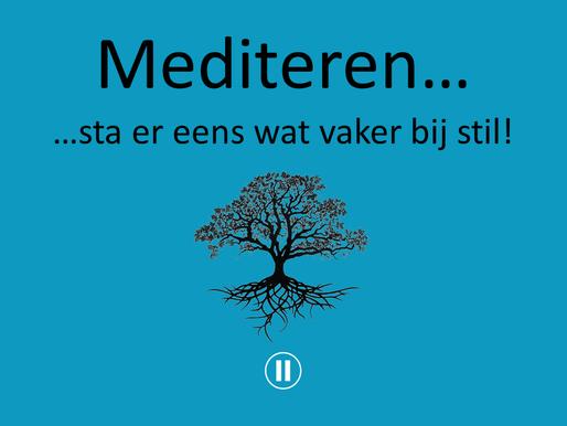 Verwonderwaardigen #24 - Mediteren