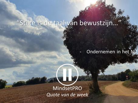 Quote van de week #17 - Stilte