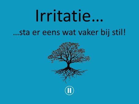 Verwonderwaardigen #8 - Irritatie