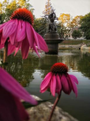 Library Park Zorach Fountain