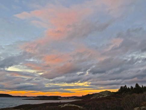 Gooseberry Island from Joes Head