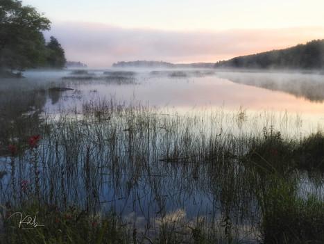 Merry Meeting Bay at Dawn