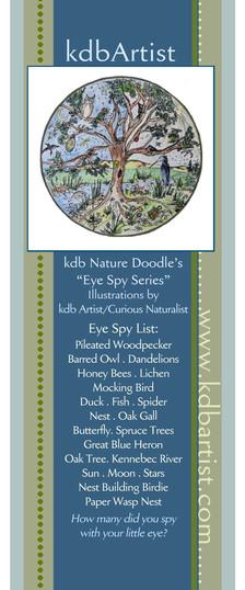 Nature Doodle Book Mark