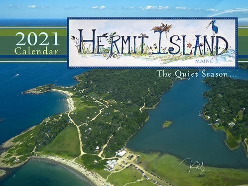 Hermit Island 2021 Calendar