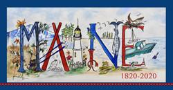Maine 200 kdb sticker