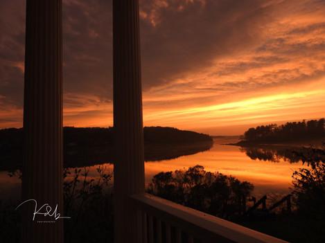 Days Ferry Sunset