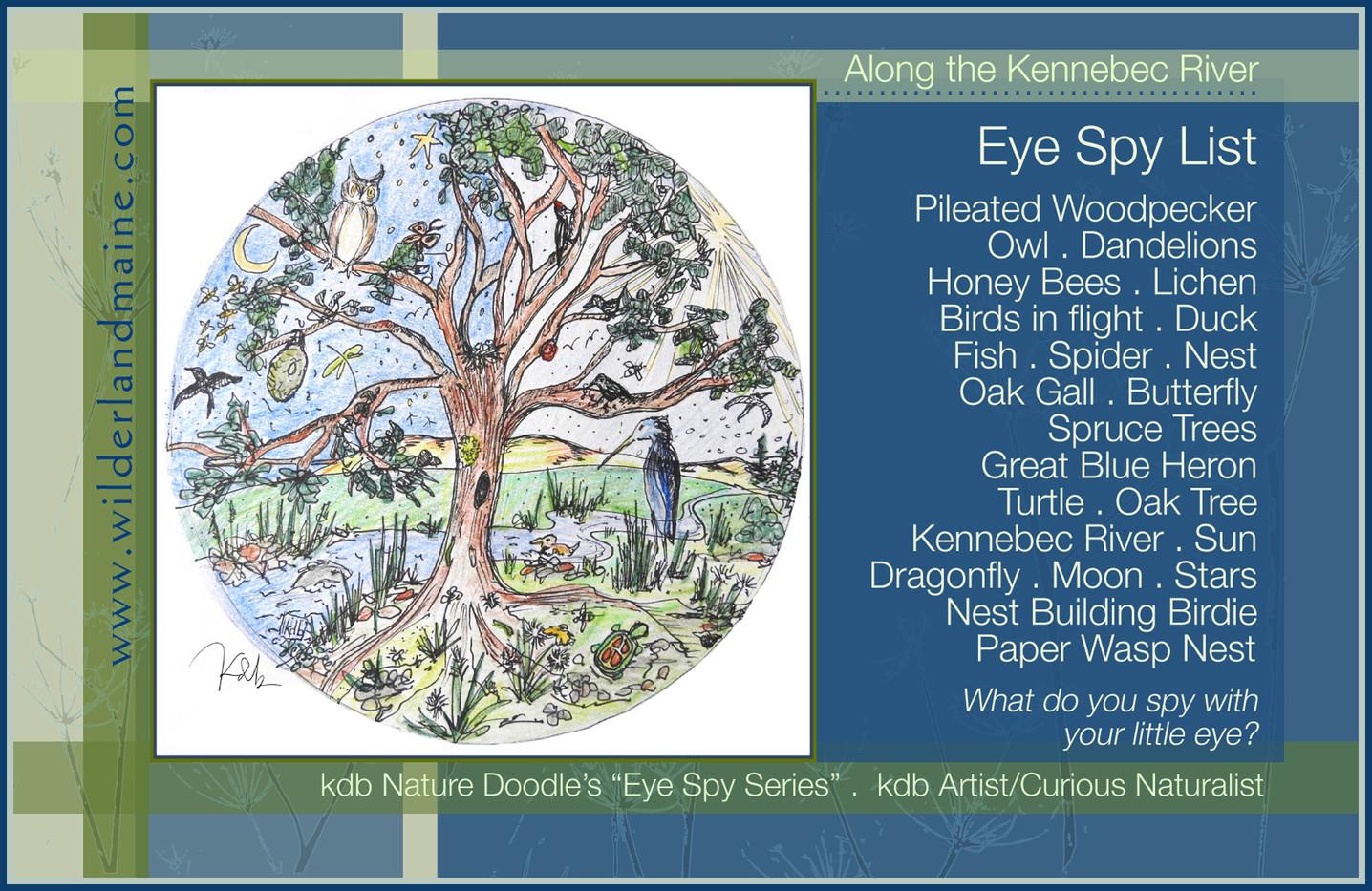 Eye Spy, Kennebec RIver