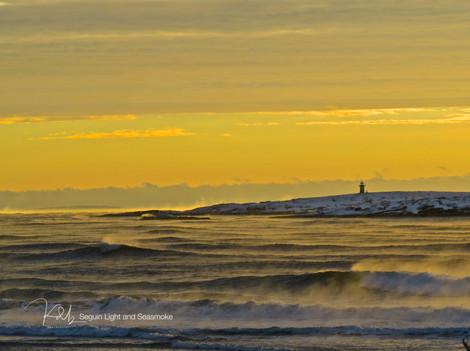 Popham Winter Sunrise