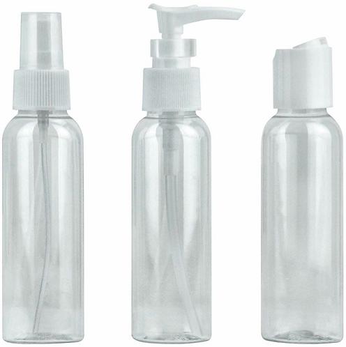 Travel liquid bottles set