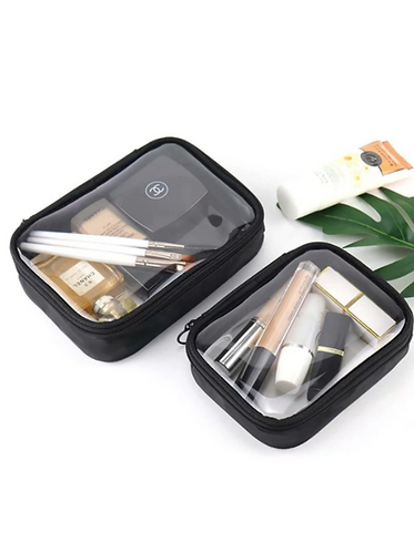 Clear Cosmetic Storage Bag SIZE B