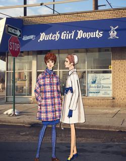 Dutch Girl Donut