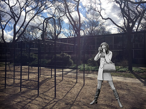 8x10 Photographic Collage Print / Lafayette Park