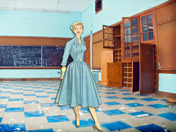 Holcomb Abadanoned School