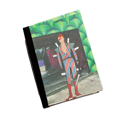 "Handmade 5""x7"" Detroit (paper) Dolls Photographic Collage Journal"
