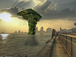 """""""Seatree"""" -- a new city habitat for flora and fauna"""