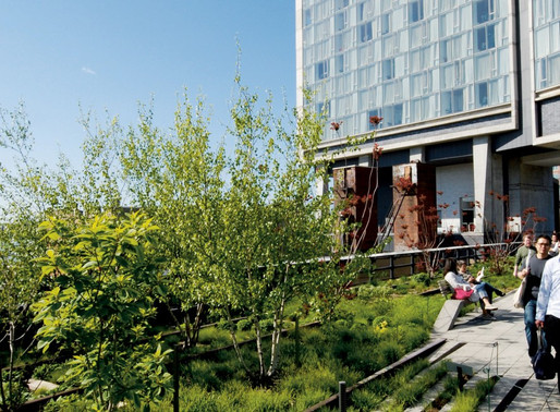 Urban Green-Blue Grids example, The High Line, New York