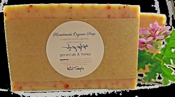 Handmade Organic Botanical Soap
