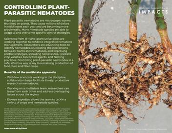 Controlling Plant-Parasitic Nematodes (S-1066   2015-2020)