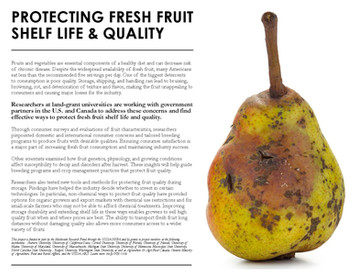 Protecting Fresh Fruit Shelf Life & Quality (NE-1336 | 2013-2018)