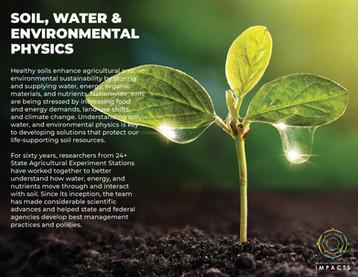 Soil, Water, and Environmental Physics