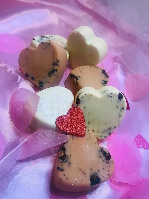 Enchanted Romance Soap Hearts