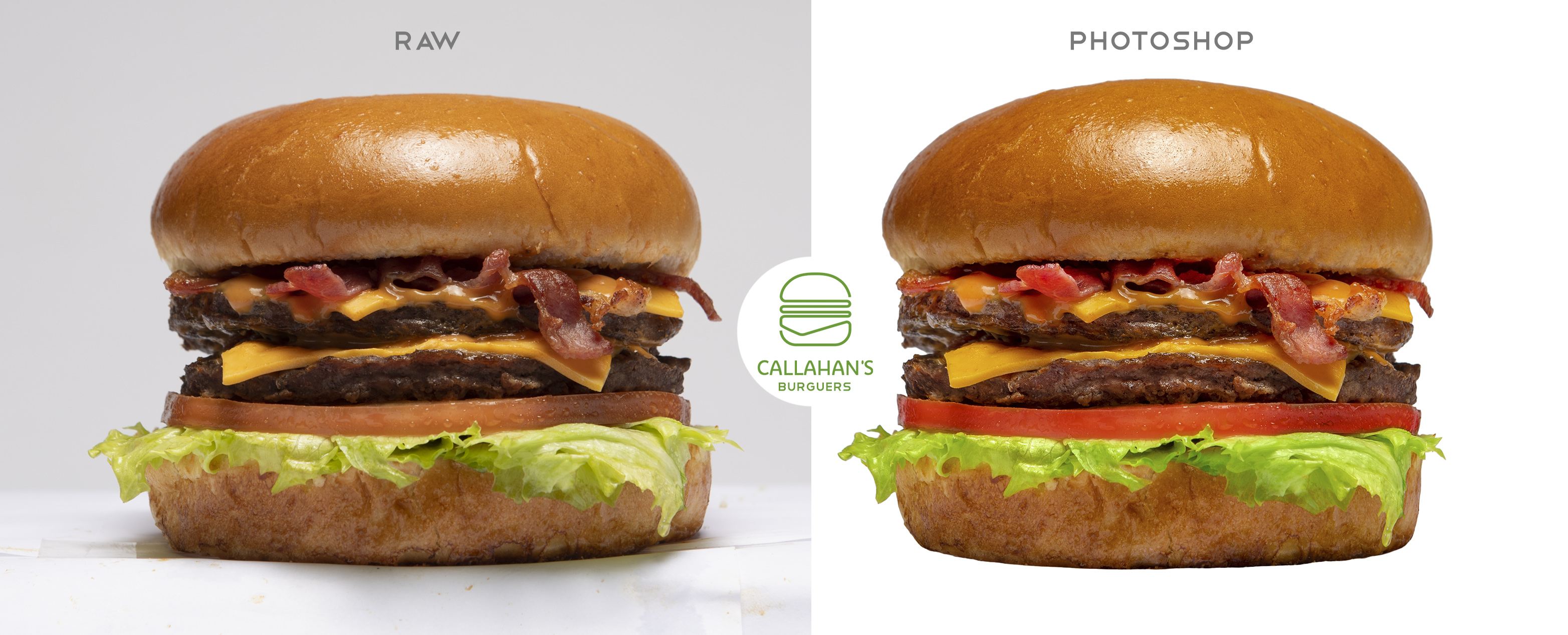 callahans burguers food photography