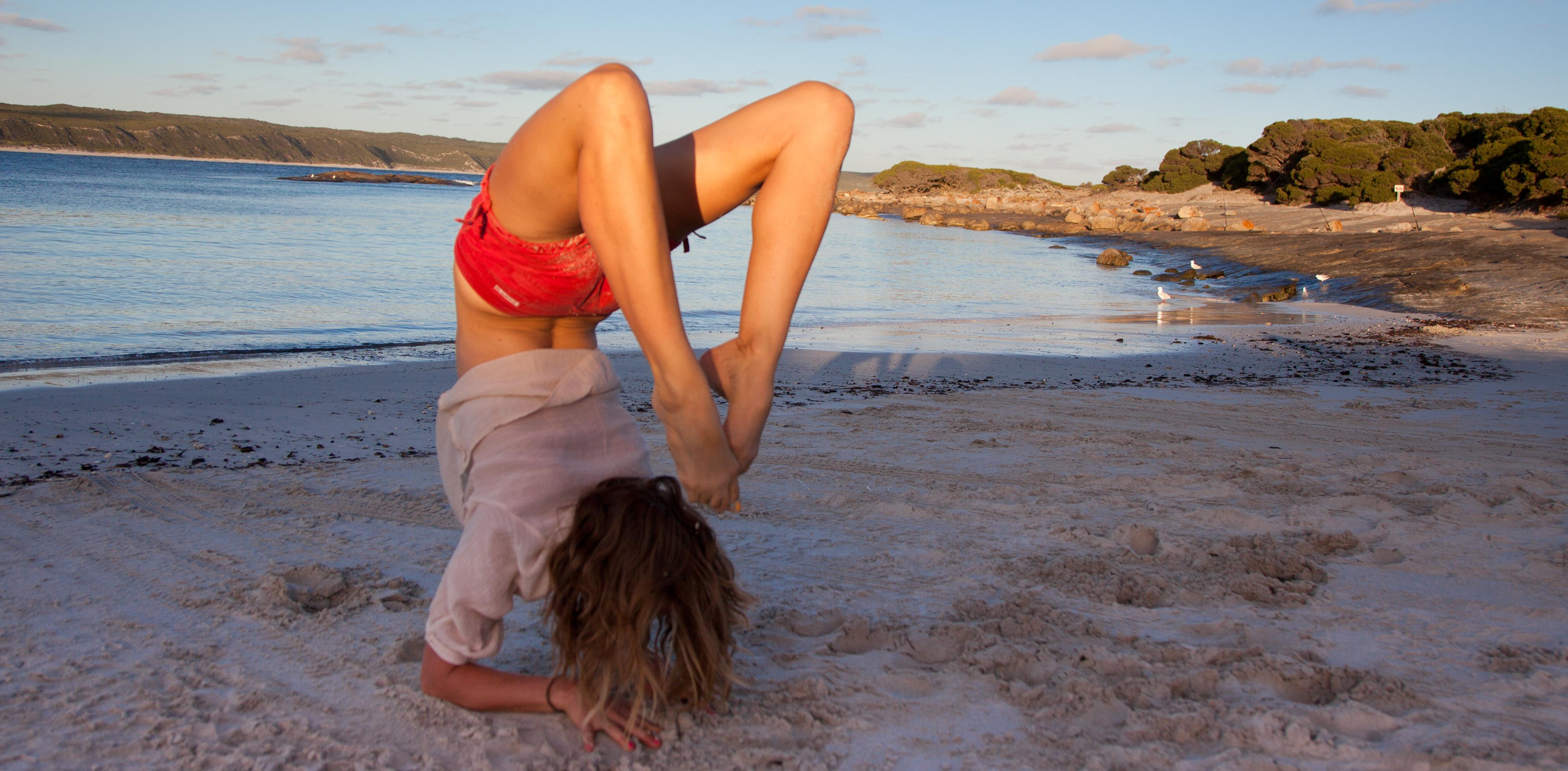 Yoga, beach, southwest, Dunsborough