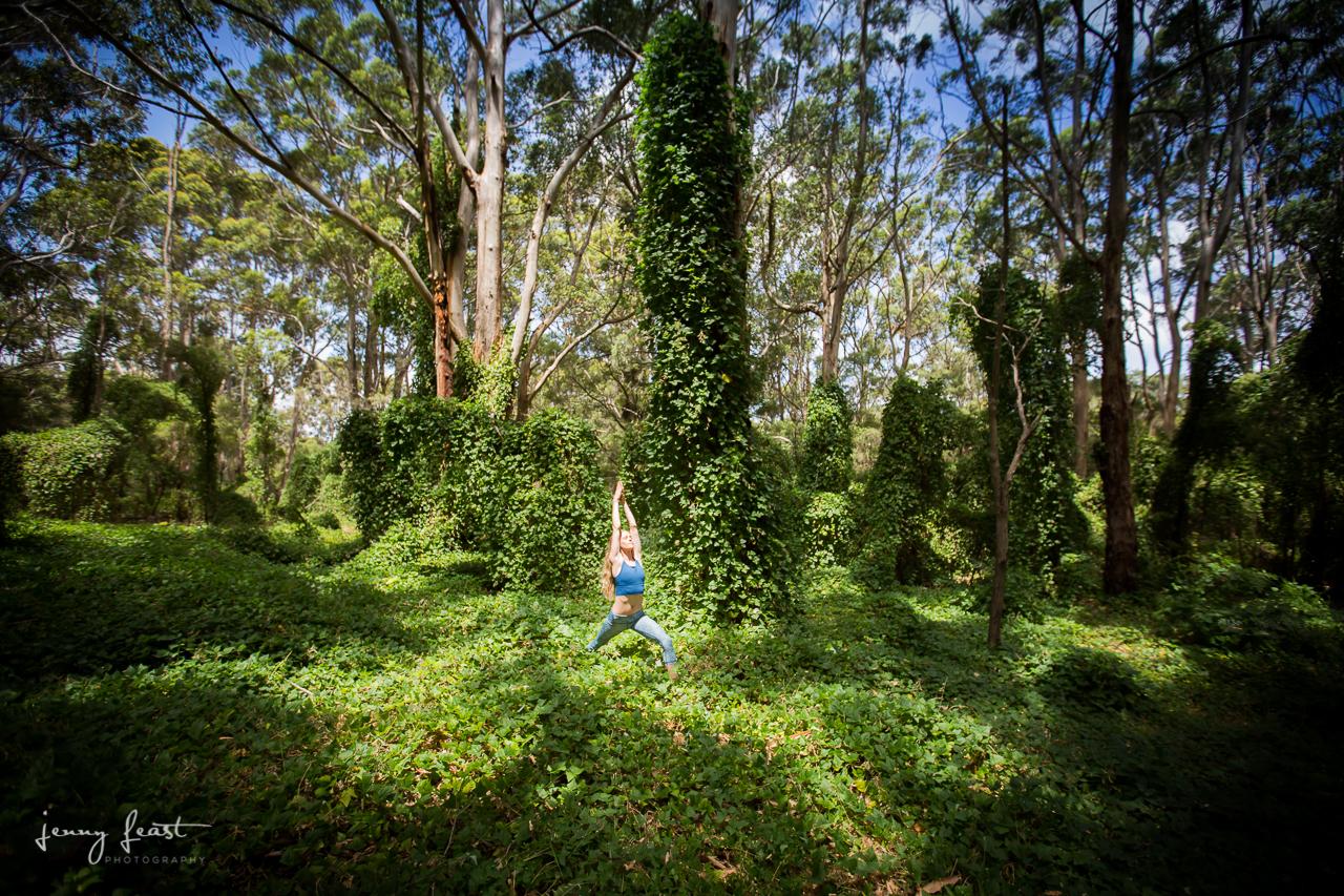 Yoga with Ashlee Boranup Forest