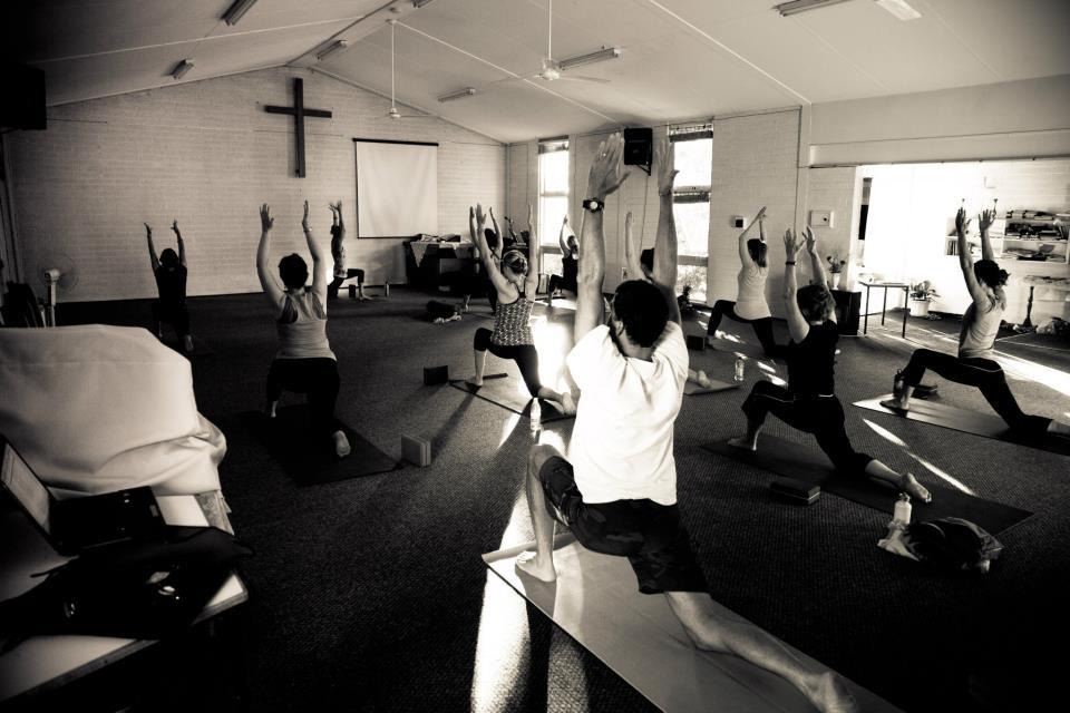 Yoga class, Gracetown,Margaret River