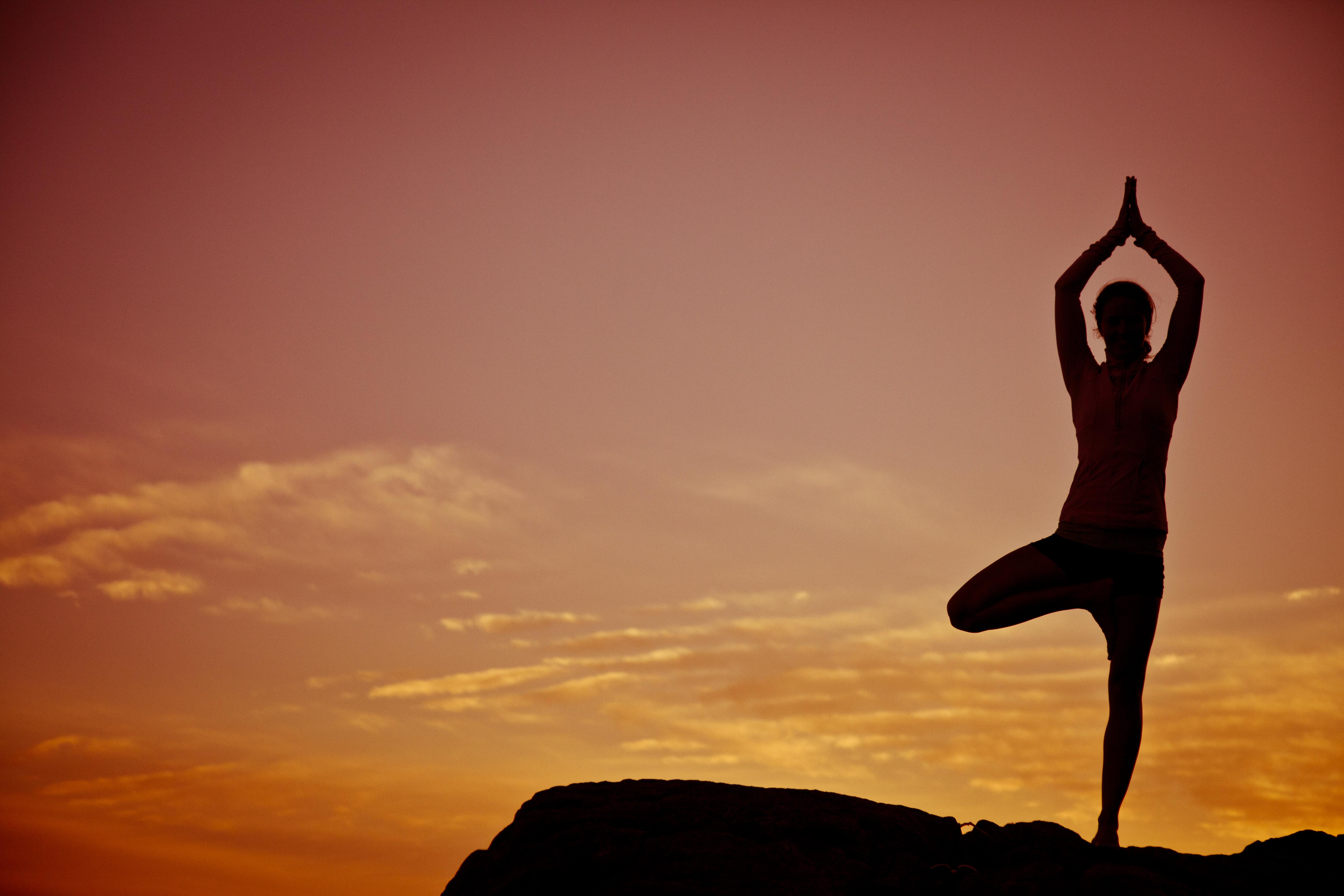 Sunset Yoga at the beach, Yallingup