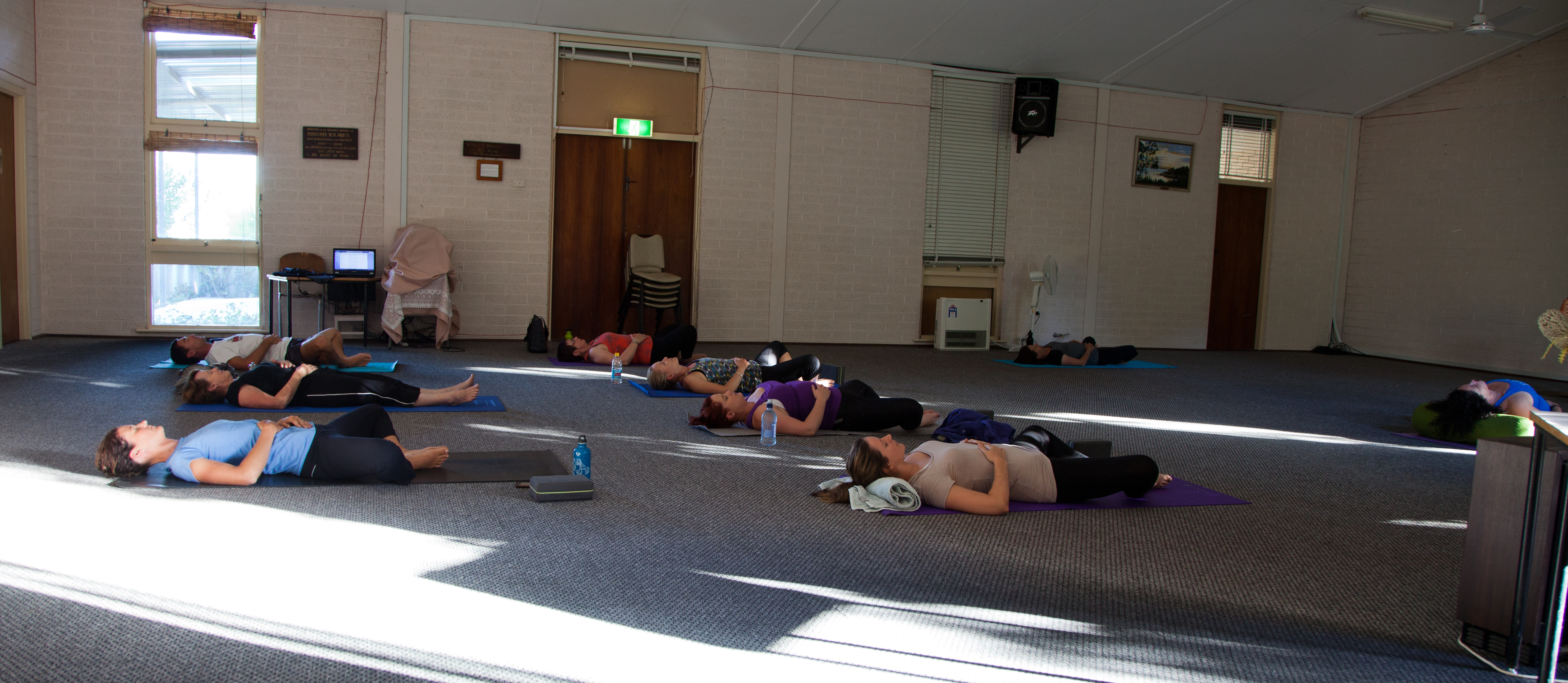 Yoga workshop Gracetown
