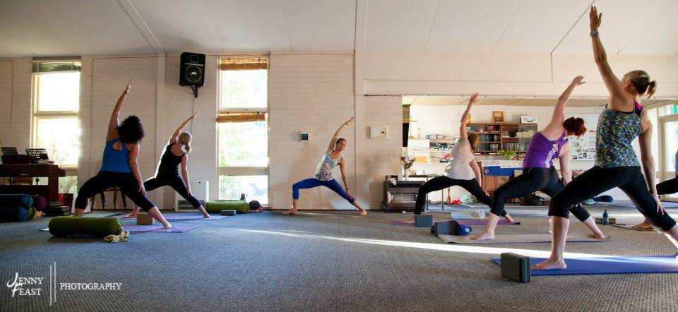 Yoga class Yallingup, Premalaya, Ash