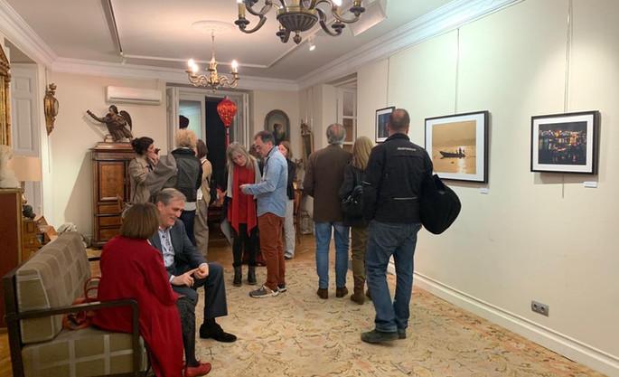 """Inauguracion de la exposición """"Vietnam Onírico. Un viaje interior"""". Blanca Desantes"""