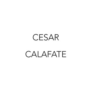 CÉSAR CALAFATE