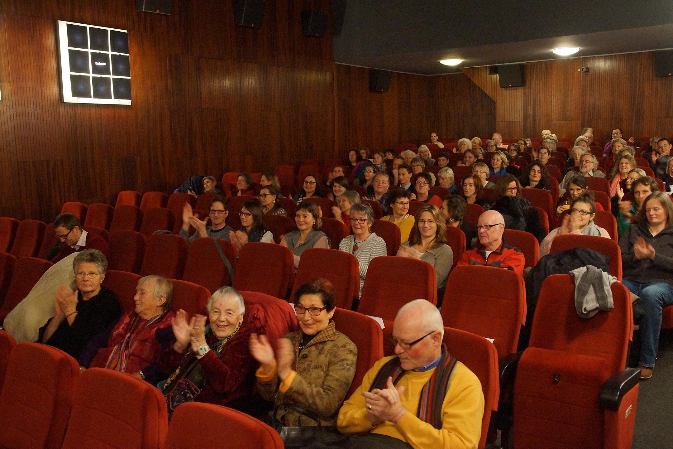 Kinosaal Museum bei der Uraufführung