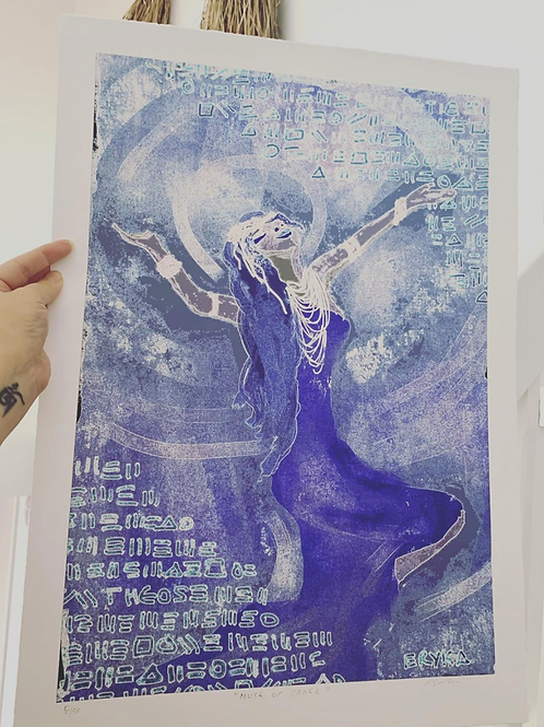 MUSE OF DANCE A2 PRINT