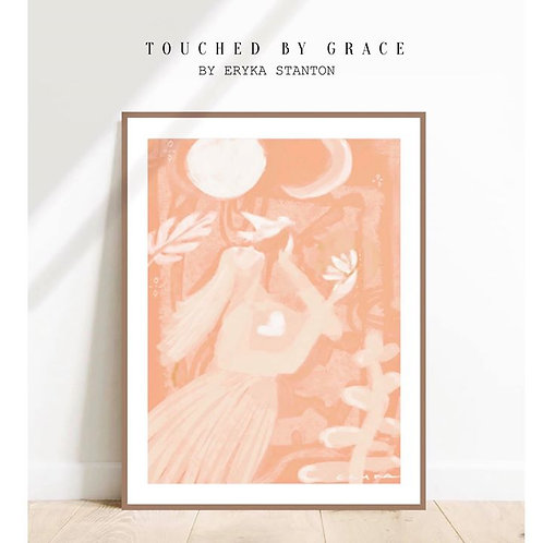 TOUCHED BY GRACE - A2 PRINT