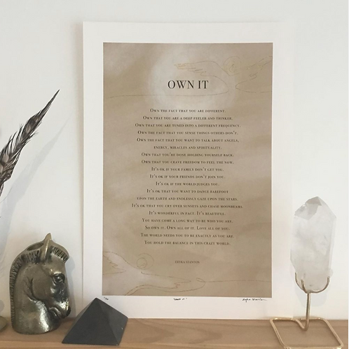 OWN IT -FREE DIGITAL POSTER