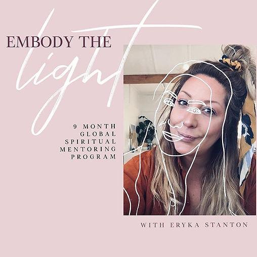 """EMBODY THE LIGHT"" SPIRITUAL DEVELOPMENT"
