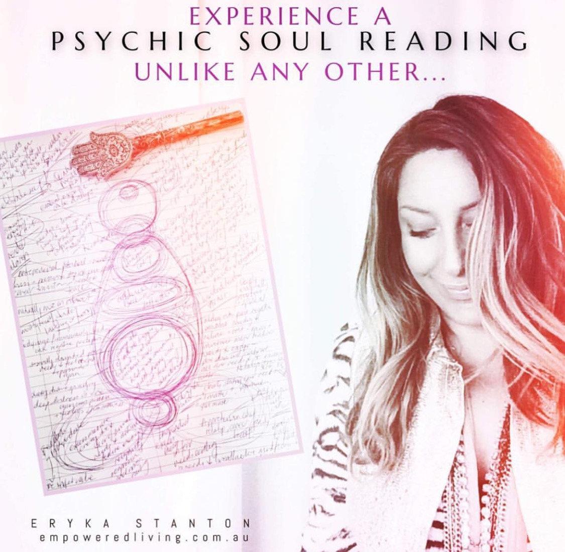 Psychic Soul Reading + Soul Sketch