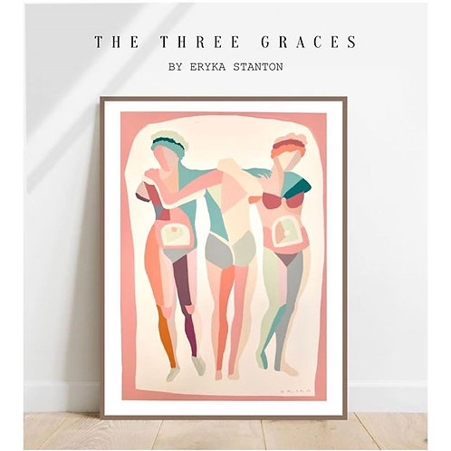 THE THREE GRACES - A2 PRINT