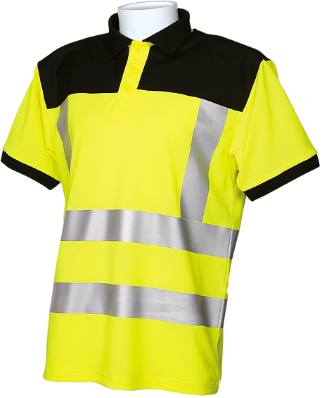 Scaff Shirt EN20471 Level 2 YELLOW Home.