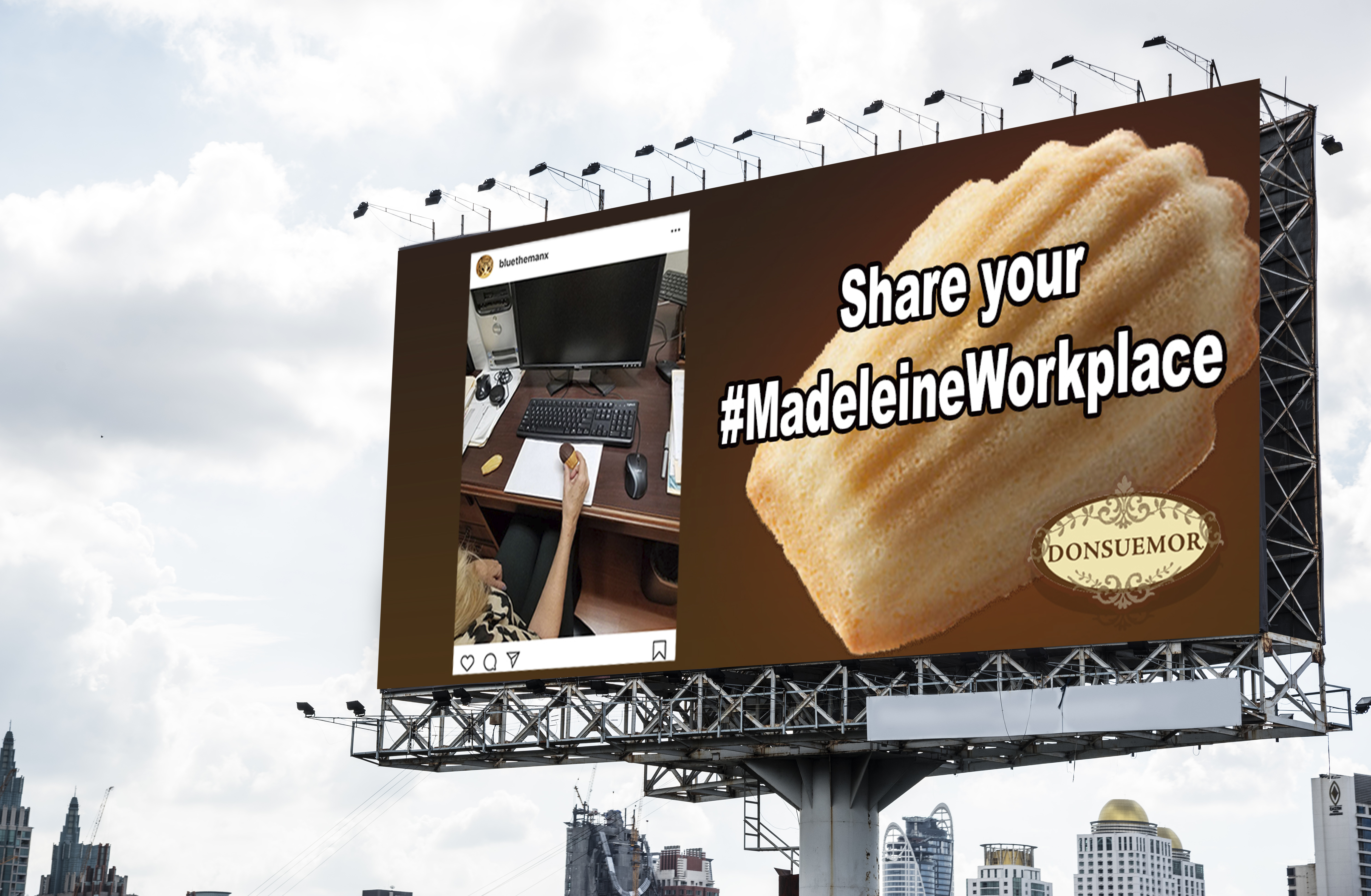 Madeleine billboard 3