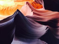 Antelope Canyon, summer colors
